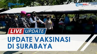 Pasukan Marinir Gelar Vaksinasi Covid-19 di Kenjeran Park Surabaya, Ratusan Warga Antusias Mengantre