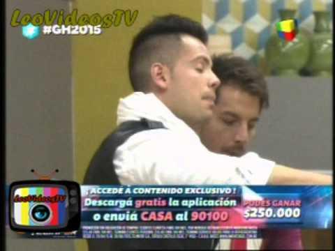 Fernando Vs  Mariano feroz pelea despues de la gala GH 2015 #GH2015 #GranHermano