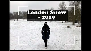 London snow 2019 tamil Vlog