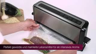 Вакууматор бытовой для продуктов Profi Cook PC-VK 1133 Германия от компании PolyMarket - видео