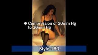GABRIALLA® Sheer Knee Highs - Compression (18-20 MmHg): H-160