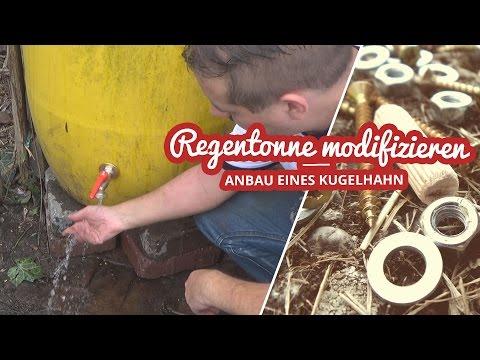 Kugelhahn an Regentonne anbauen und 6000 Abo Spezial