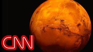 Evidence of lake beneath Mars