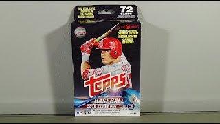 2018 Topps Series 1 Baseball Retail Hanger Box Break!