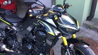 Kawasaki Z1000 R Mit Rizoma
