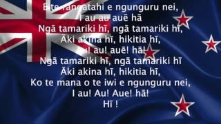 New Zealand National Anthem (Haka Version)