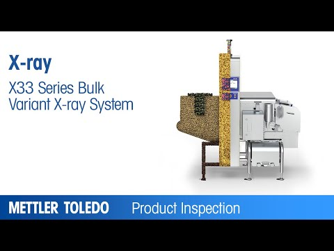 Inspection of bulk foods with x-ray inspection systems