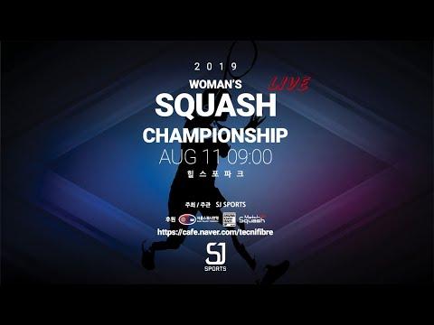 [매치업스쿼시]2019 WOMAN'S SQUASH CHAMPIONSHIP