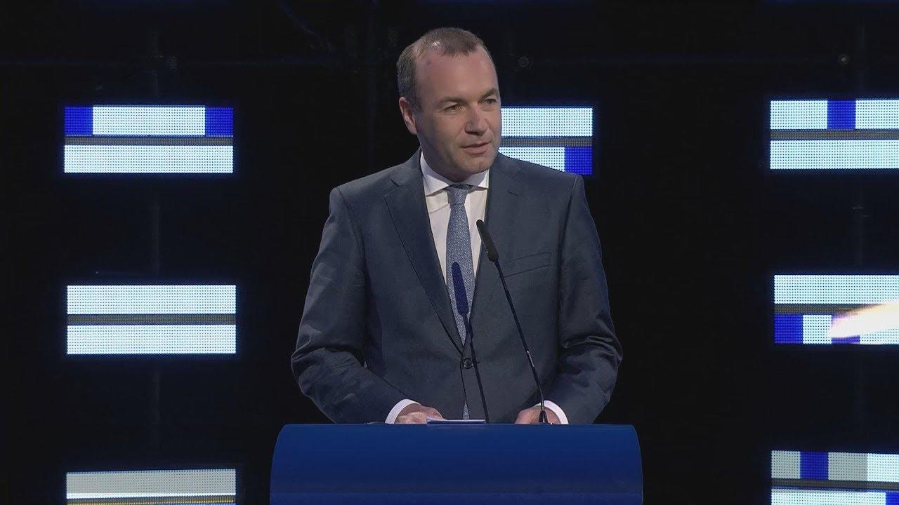 Ο Μάνφρεντ Βέμπερ, για το αποτέλεσμα των Ευρωεκλογών 2019 (ΕΛΚ)