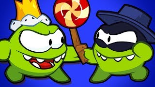 Om Nom Stories : FIGHT FOR THE CROWN | Cartoon For Children | Om Nom Hindi