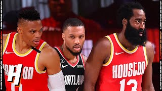 Houston Rockets Vs Portland Trail Blazers - Full Game Highlights | August 4 | 2019-20 NBA Season