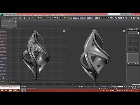 3d Tutorial | Twisted Fantasy Pendant | 3dsmax