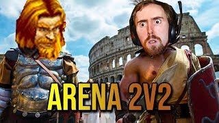 Asmongold & Mcconnell Step Into The Arena (WoW PvP)