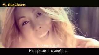 Top 10 Russian radio chart - Топ 10 русских хитов - Русское радио - Золотой граммофон - 03 10 2013