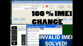 How To Change Any Android Phone Imei   10000% Working Tested