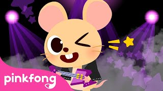 Under the Button🐭   Pinkfong's Farm Animals   Nursery Rhymes   Pinkfong Songs for Children