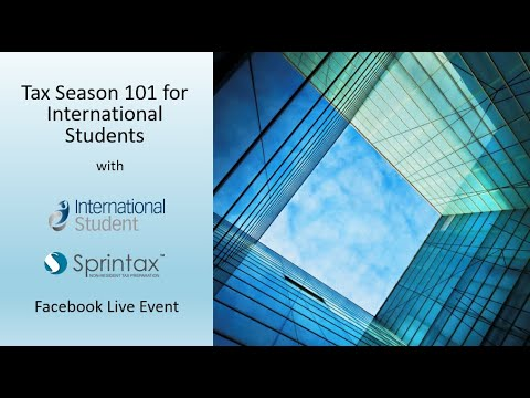 Tax Season 101 for International Students
