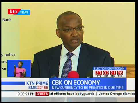 CBK Governor pushes for removal of net cap on interest rate cap