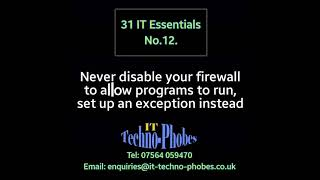 IT Techno-Phobes Limited Tip 12 – IT Support Services In Kidderminster