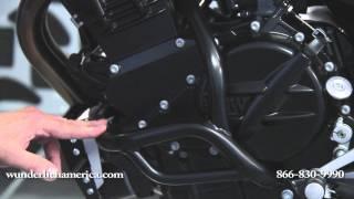 Wunderlich Engine Protection Bar Set F800R 8160008-209
