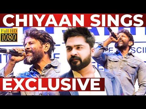 Chiyaan VIKRAM Performs Thalli POGATHEY at Sathyabama University Culturals 2019   Part 2