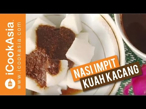 Resepi Nasi Impit Kuah Kacang | Try Masak | iCookAsia