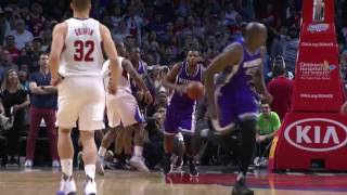 Willie Cauley Stein Game Winner! | Kings vs Clippers | March 26, 2017 NBA Regular Season