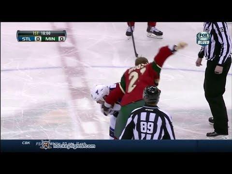 Kyle Brodziak vs. Steve Ott