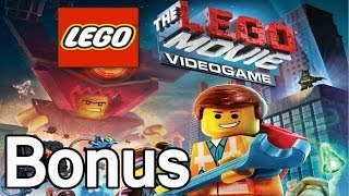 The Lego Movie Videogame - The Bonus Room!