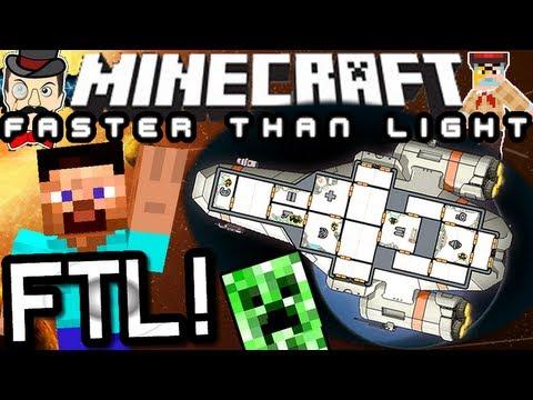 Minecraft FASTER THAN LIGHT - FTL in Minecraft!
