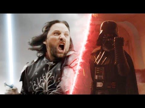 Star Wars VS Lord of the Rings Epic Supercut (Fan Trailer)