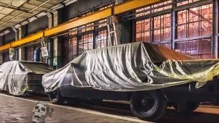 Abandoned car factory 2016. Ghost abandoned factories 2016. Haunted scary places