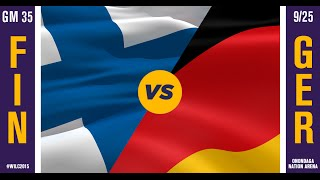 WILC 2015: Game 35 - Finland vs. Germany