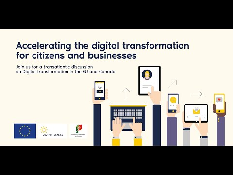 Accelerating the digital transformation for citizens & businesses: European & Canadian perspectives