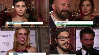 Entrevista a actores turcos en MIPCOM 2015