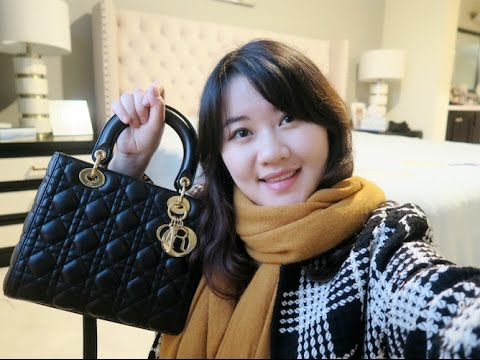 Lady Dior Unboxing + Review | What fits in my bag? Mod Shots