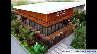 GREAT COFFEE SHOP DESIGN # MODERN ARCHITECTURE DESIGN