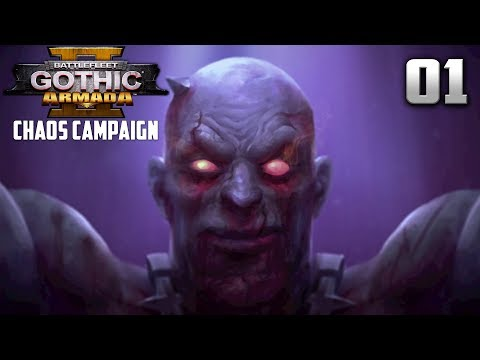 CHAOS CAMPAIGN! FOR THE DARK GODS! - Battlefleet Gothic Armada 2 Chaos Campaign #1
