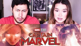CAPTAIN MARVEL | Brie Larson | Marvel Studios | Trailer Reaction!