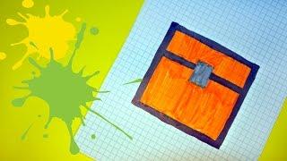 Как рисовать по клеточкам майнкрафт