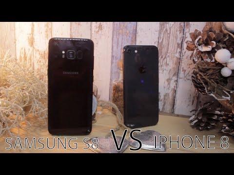 Что лучше выбрать? Samsung Galaxy S8 или iPhone 8.