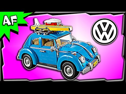 Vidéo LEGO Creator 10252 : La coccinelle Volkswagen