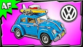 Lego Creator Volkswagen VW BEETLE 10252 Stop Motion Build Review
