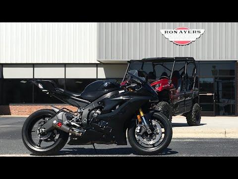 2017 Yamaha YZF-R6 in Greenville, North Carolina - Video 1