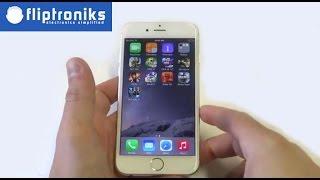 Apple Iphone 6: How To Delete Apps - Fliptroniks.com