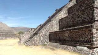 Teotihuacan - Aztec Ruins  Mexico City