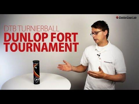 Dunlop Fort Tournament DTB Tennisbälle