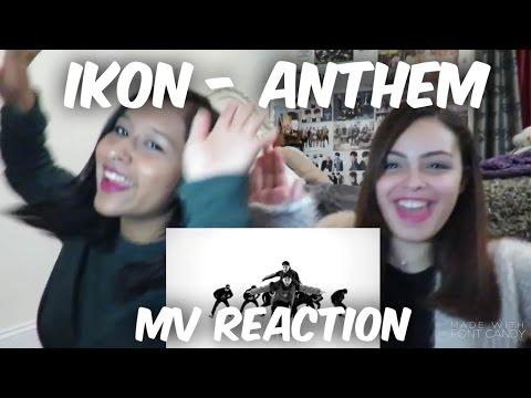 IKON - ANTHEM MV Reaction [DOUBLE B SLAYED!]