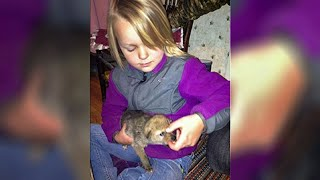 Girl's Dad Brought Home A Strange Puppy. But Look Closely… Because That's NOT A Regular Dog