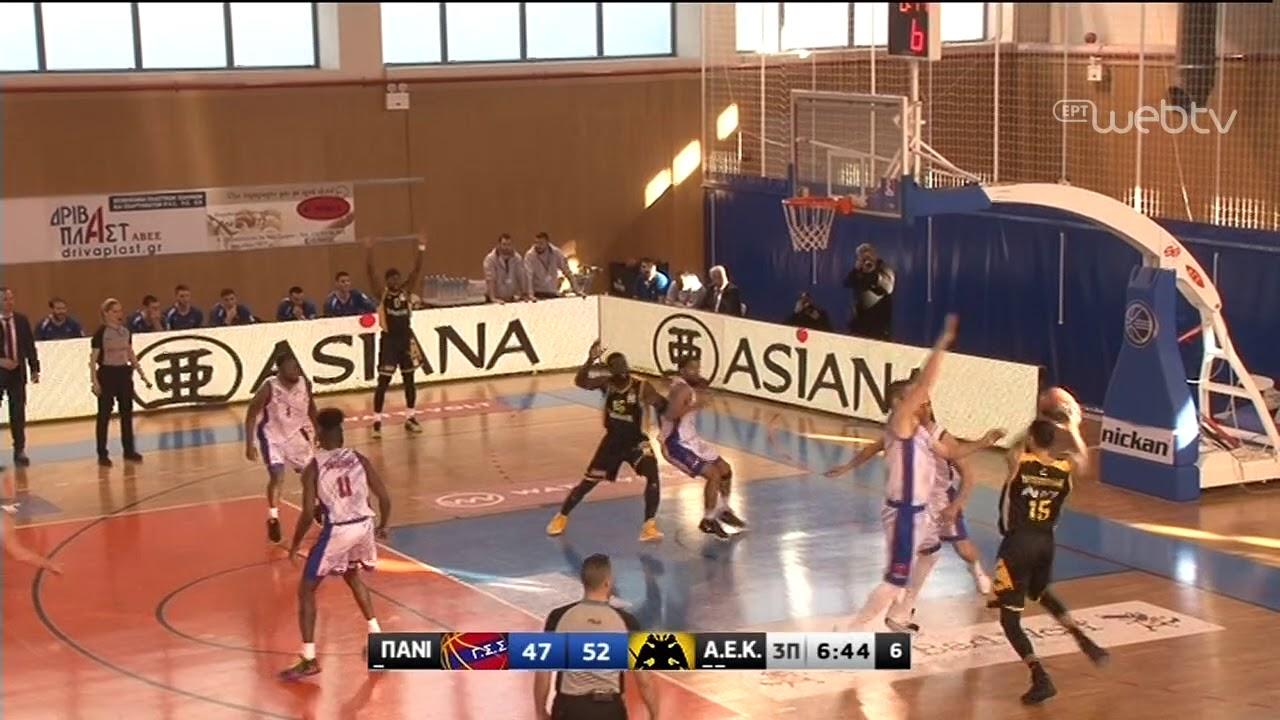 Basket League 2019-2020: ΠΑΝΙΩΝΙΟΣ – ΑΕΚ | HIGHLIGHTS | 29/02/2020 | ΕΡΤ